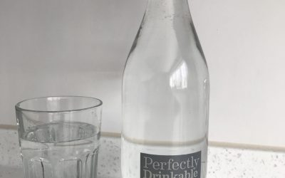Perfectly drinkable tap water!