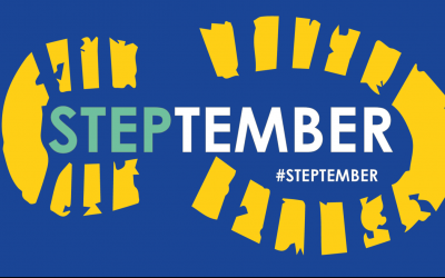 Steptember is next month!